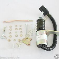 Fuel Stop Shutdown Shut Off solenoid SA-3799-12 1751ES-12 Deutz Bosch RSV 12V