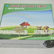 Ok Pet Wireless Dog Fence Model A8 Multiple Pets Quick Setup Rechargeable