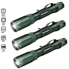 Skywolfeye 1Pack Led 1000 Lumen 18650 Flashlight USB Rechargeable Flashlight Zo