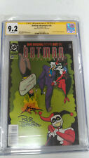 Batman Adventures #28 CGC 9.2 Signed by Rick Burchett