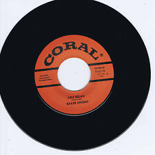 BAKER KNIGHT - JUST RELAX / HUNGRY FOR LOVE - TWO ROCKABILLY STROLLERS - REPRO