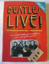Rare~Beatles Live by Lewisohn w/sealed CD Radio Interview~1st Ed~LBDWA