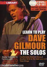 Fare clic su Libreria imparare a giocare la Solos Dave GILMOUR comodamente Numb CHITARRA DVD
