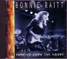 Bonnie Raitt Burning EDIT PROMO CD Single Talking Heads