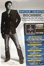 "Enrique Iglesias ""Insomniac"" Promo Poster From Malaysia"