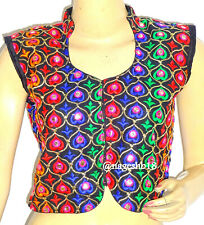 Readymade Saree Blouse, Designer Sari Blouses,Sleeveless Crop Top,Rajasthani Top