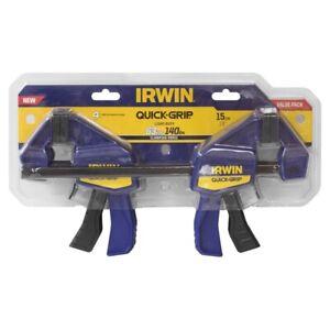 Irwin 150mm Quick-Grip Mini Bar Clamp 4 Piece Set 63kg Clamp Force