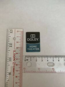 Dolby Home Theater Case Badge