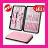 Manicure Set Professional Nail Clippers Kit Pedicure Care Tools- Stainless Steel
