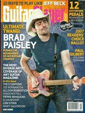 2007 Guitar Player Magazine: Brad Paisley/Jeff Beck/Allison Robertson/Scorpions