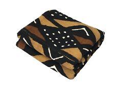 "Superb African Bogolan Mud Cloth Textile 65 "" by 42 """