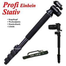 Einbein Stativ Kugelkopf für Canon 1300D 1200D 1100D Kamerastativ + Tasche NEU