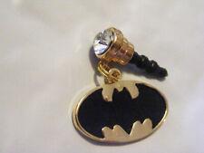 Batman Gold Cell Phone Dust Plug