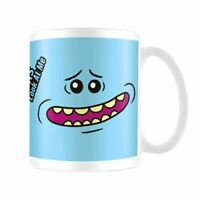 Rick And Morty Mr Meeseeks Visage Tasse à Café à Thé - Emballé Adulte Nager