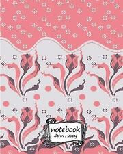 Notebook Journal Dot-Grid,Graph,Lined,Blank No Lined : Flower Wallpaper :...
