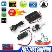 1080P HD Mini Hidden Spy Camera Digital Video DIY Module Remote Control Cam HOT