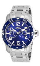 Invicta Pro Diver 17496 Men's Round Dark Blue Day & Date Analog Stainless Watch
