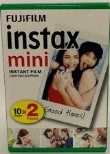 Fujifilm Instax Mini Film 2er Pack  2x 10 Fotos Sofortbild Sofortfilm Bilder