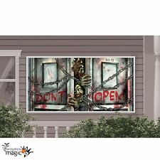 1.6m Halloween Horror Zombie Haunted House Party Decoration Plastic Giant Banner