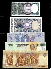 EGYPT 5 PIASTERS 1999 P-188a SIG//GHAREEB LOT X10 TEN UNC NOTES UNC *//*