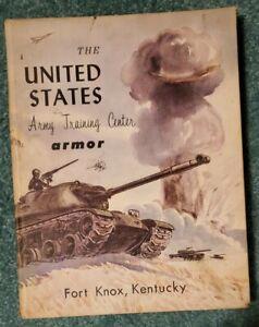 VINTAGE 1960 UNITED STATES ARMY TRAINING CENTER ARMOR FORT KNOX, KENTUCKY YRBOOK