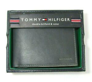 D2 TOMMY HILFIGER MEN'S BILLFOLD GREY CREDIT CARD ID WALLET