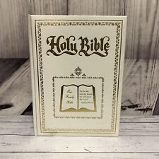 HOLY BIBLE Dugan Our Family Bible With Graphics 1984 Red Letter Version