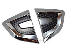 CHROME SIDE LAMP SIDE VENTS COVER USE FOR HONDA CITY 2008 2009 2010 2011 2012