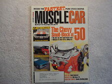 Muscle Car Enthusiast 2005 March 69 Pace Car Camaro 68 CJ Mustang 64 GTO tri pw