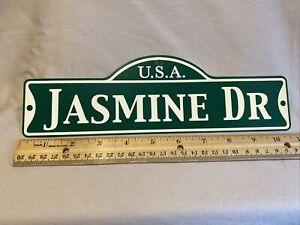 Green Street Room Sign Personalized  ~ USA  Jasmine Dr~ Stocking Stuffer ~