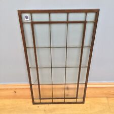 Antique Copper Window Frame Arts & Crafts Old Edwardian Architectural Salvage
