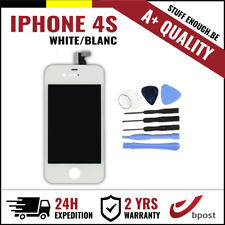 A+ LCD TOUCH SCREEN VITRE DISPLAY/SCHERM/ECRAN WHITE BLANC & TOOLS FOR IPHONE 4S