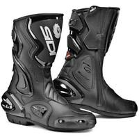Sidi Cobra Rain Waterproof Street Motorcycle Boots Black Size 11 US / 45 EU