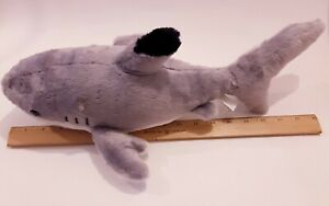 "Aurora Destination Nation Great White Shark Stuffed animal toy Soft 18"""