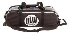 DV8 Tactic Black Slim Triple 3 Ball Tote Bowling Bag