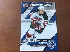 2021 UD National Hockey Card Day American Icons USA-13 Scott Gomez