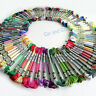 Pick your Color, 5/10 Skein DMC Light Effect/Satin Embroidery Floss Cross Stitch