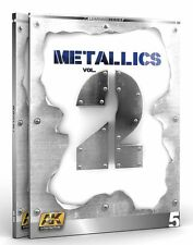 Ak Interactive AKI 508 Metallics Vol. 2  Learning Series Book #5