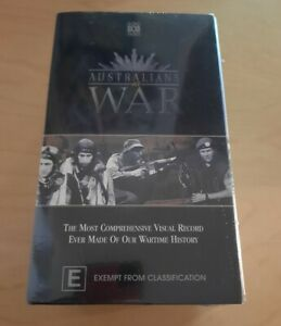AUSTRALIANS AT WAR ~ Complete Boxed Set VHS Sealed Brand new ABC Video 2001