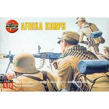 37 X Airfix Ww2 German Afrika Korps Infantry Set 01711 Scale 1/72 Ho/oo 20mm