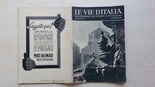 LE VIE D'ITALIA TCI 1948 N°11 BARI GENOVA QUARTO COTIGNOLA BAGNARA 5/17