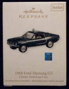 2011 Hallmark Ornament - 1968 Mustang GT * BULLITT Style! Rare! Free US Shipping