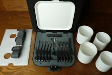 New listing Lexus Portable Picnic Wine Cooler Hard Case with Plates & Utensils