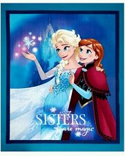 DISNEY FROZEN SISTERS ARE MAGIC QUILT PANEL * IN STOCK * FREE POST *