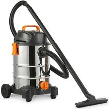 VonHaus Wet and Dry Vacuum Cleaner 30l With Blowing Function – Suitable for Dust