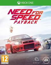 Xbox One Gioco Need For Speed - Payback Auto da Corsa DVD Versione Merce Nuova