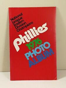 1976 Philadelphia Phillies Baseball Photo Album Booklet