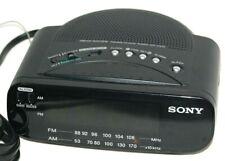 Sony Dream Machine Alarm Clock Radio AM FM Battery Backup Model ICF C212