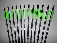 12 2016 Horton Carbon Crossbow Bolts/Arrows w/ Ten Point Omni-Nocks by Easton