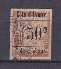 es - 1903 COTE d'IVOIRE Colis Postaux n°6, oblitéré, superbe.